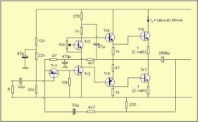 Pcb Power 400 Watt Pa 018b simple power lifier circuit 2n3055 electronic circuit