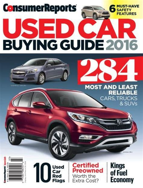 Consumer Reports Car Books consumer reports used car buying guide march by consumer reports nook book ebook barnes