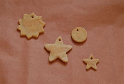 Handmade Dough Ornaments - simple sweet kid friendly salt dough