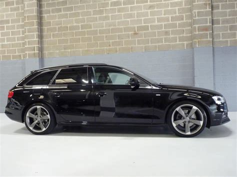 Audi A4 Avant Black Edition For Sale by Used 2015 Audi A4 Avant Tdi S Line Black Edition For Sale