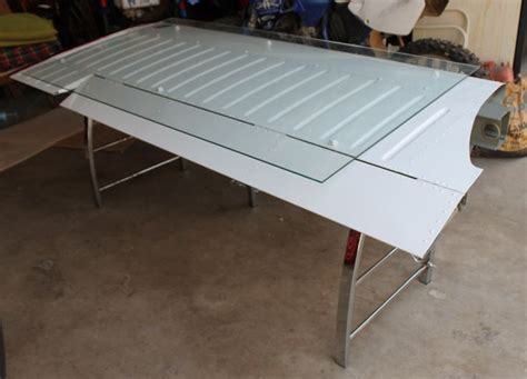 aircraft wing desk for sale desk made from an airplane wing diy pinterest wings