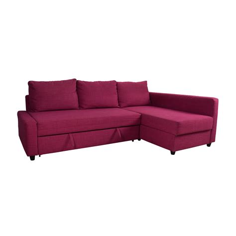 66 Off Ikea Ikea Friheten Pink Sleeper Sofa Sofas Pink Sleeper Sofa