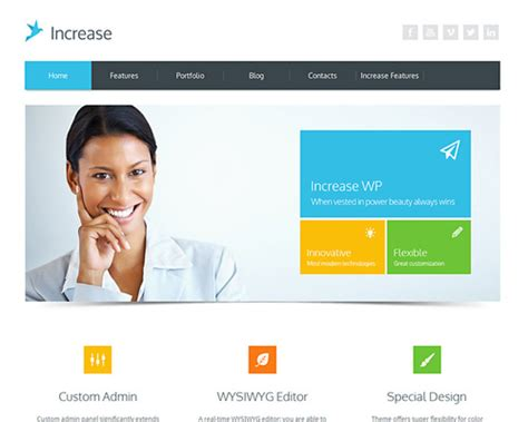 wordpress themes free download for software company increase software company wordpress theme themeshaker com