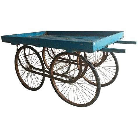 indian cart antique indian market or cart flower stand