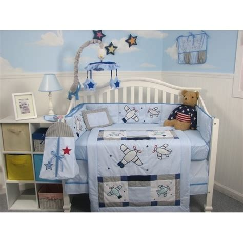 Airplane Baby Crib Bedding Soho Designs 13 Airplane Baby Crib Nursery Bedding Set Babyairplane Nursery Bedding Sets
