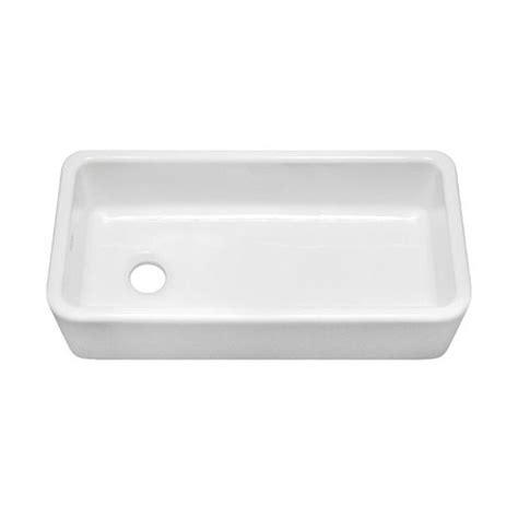 Julien Kitchen Sinks Julien F140 080002 Farmhouse White Fireclay Single Bowl Kitchen Sink 33 25 Quot X15 38 Quot X8 5