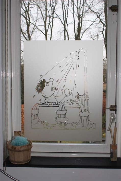 badkamer folie raamfolie badkamer ernie in bad binnen buitenzijde
