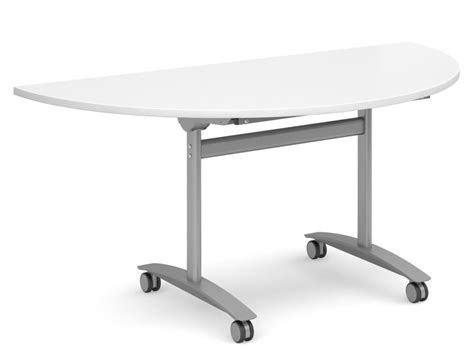 Half Moon Conference Table Half Moon Flip Top Tables Gm 1600mm Reality