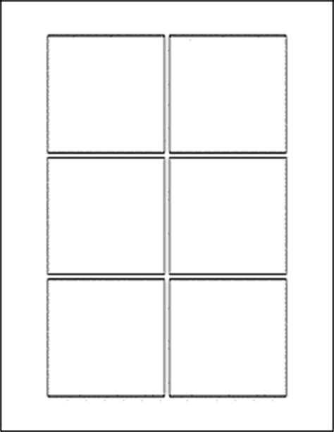 blank place card template 4 per sheet 3 quot x 3 quot square labels ol805