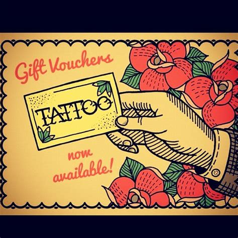 printable tattoo voucher tattoo gift certificate template tattoo gift certificate