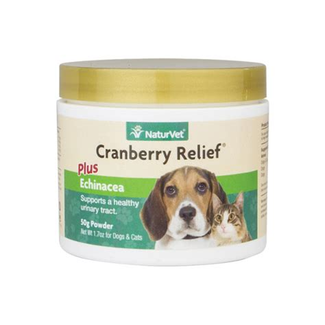 cranberry for dogs naturvet cranberry relief cat remedy for urinary tract