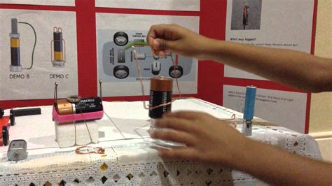 how to make a magnetic motor how to make a simple magnetic motor best science fair