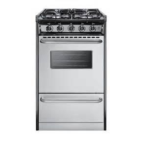 gas range for home summit appliance 20 in 2 46 cu ft slide in gas range in