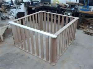 Diy Toddler Bed From Playpen Easy Playpen Timelapse Construction