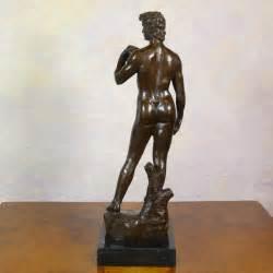 statue david 10 bronze david