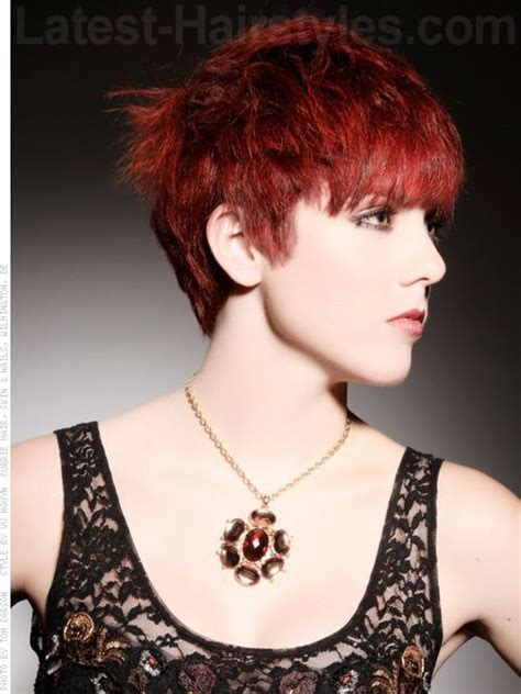 short hair where sided go towards face 63 best images about hair cut n color ideas on pinterest