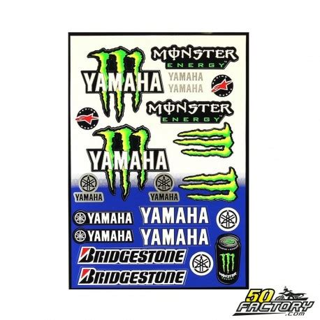 Sticker Yamaha Quad by Scooter Moto Quad Stickers Yamaha Monster Achat