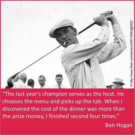ben hogan swing theory ben hogan quotes quotesgram