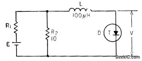 tunnel diode block diagram unstabilized tunnel diode oscillator circuit signal processing circuit diagram seekic