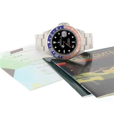 Rolex Gmt Automatic By Willy Shop rolex gmt master ii pepsi bezel 40mm automatic stainless