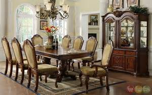 Elegant Dining Room Set napa valley elegant dark cherry formal dining set with