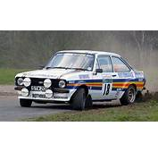 Five Of The Best Rally Cars All Time  Ford Escort RS1800