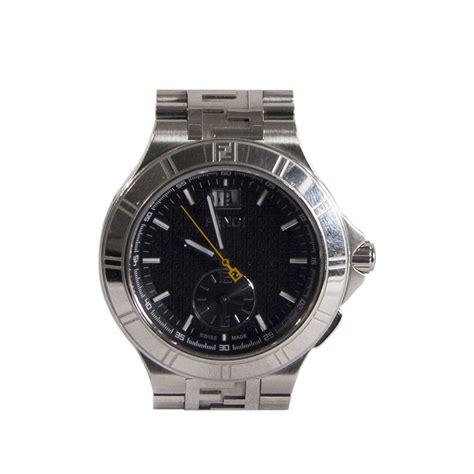Dual Time Zip Code By Fendi by Fendi Reloj Dual Time 43 Mm Tienda De Bolsos De Marca