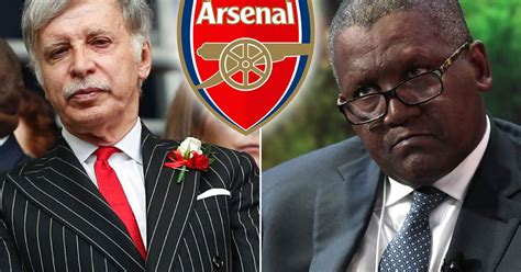 africa s richest wants to buy arsenal and the billionaire believes stan kroenke