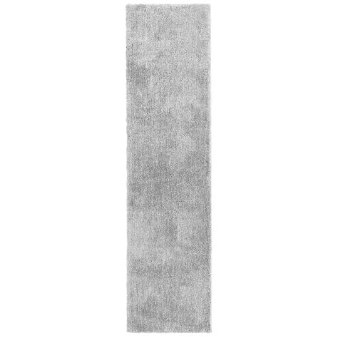 gray rug runner home decorators collection ethereal gray 2 ft x 8 ft runner 509583 the home depot