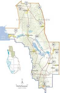 where is river florida on a map withlacoochee river basin