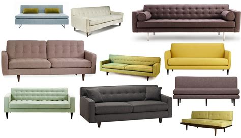 mid century inspired sofa sofa design ideas convertible ideas mid century style