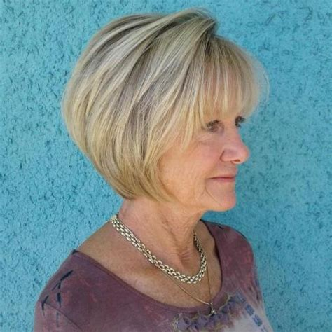 bangs for over 60 woman 60 best hairstyles and haircuts for women over 60 to suit