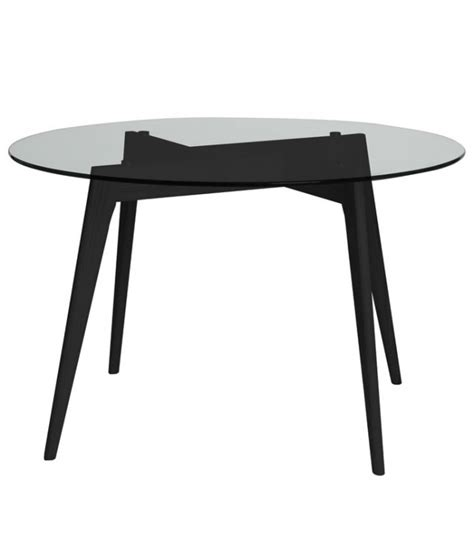 Table Ronde Noir by Table Ronde Janis 120 Cm De Couleur Noir Centrolandia