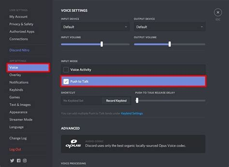 discord keybinds how to enable and configure push to talk in discord beebom