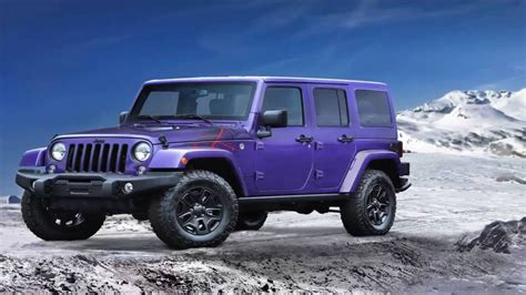 purple jeep no doors purple 4 door jeep wrangler autos post