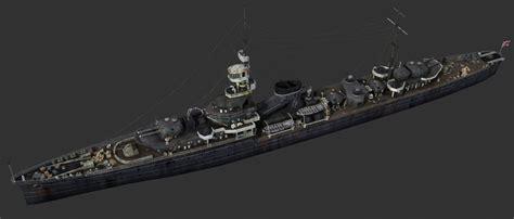Old Warship 01 3D Model .max .fbx   CGTrader.com