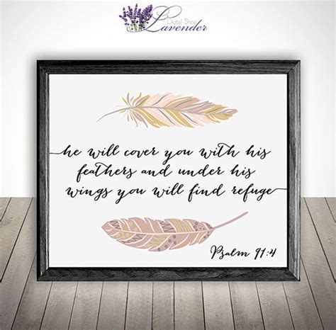 printable scripture wall art printable home decor bible verse wall art printable he will