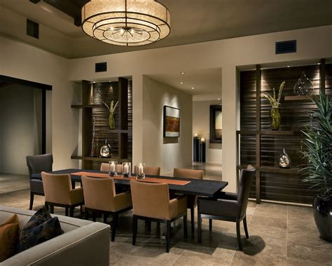 contemporary dining room modern traditional interior design by ownby
