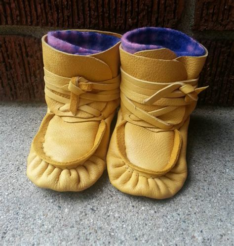 American Handmade Shoes - authentic handmade baby moccasins wrap by cultureshockjewelry
