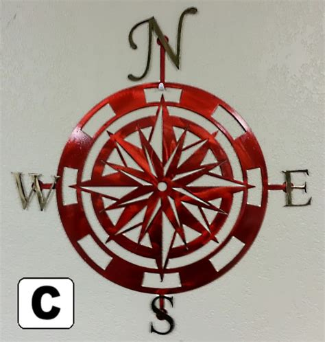 e home 174 metal wall art wall decor patterns of leaf and nautical compass rose laser cut metal wall art pattern