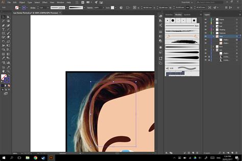 adobe illustrator pattern stroke illustrator custom art brush stroke inverted colour