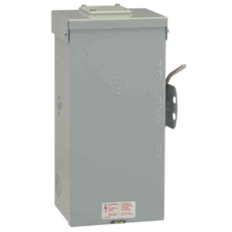 Ge 100 Amp 240 Volt Non Fused Emergency Power Transfer