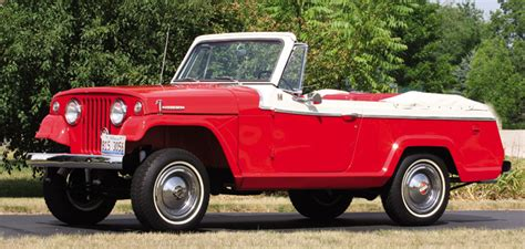older jeep vehicles photo feature 1968 kaiser jeep jeepster convertible the