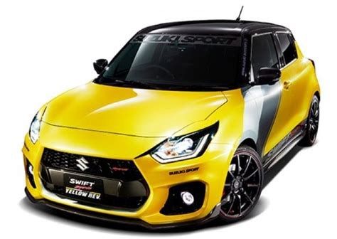 Suzuki Auto 2019 by Suzuki Sport Yellow Rev Concept To Be Revealed At