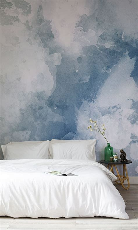 Blaue Tapeten Schlafzimmer by 25 Best Ideas About Bedroom Wallpaper On Tree