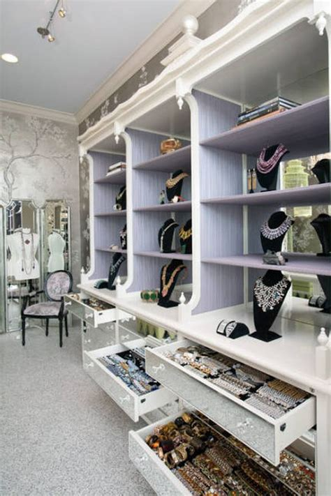 Jewelry Closet by Diy Closets That Stun With Aesthetics