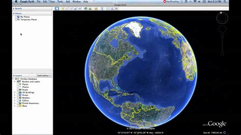tutorial video google earth 1 content panels google earth tutorial youtube