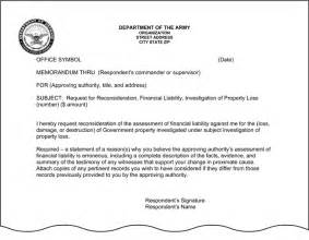 Army Policy Letter Template by Letter Of Continuity Army Best Letter Exles