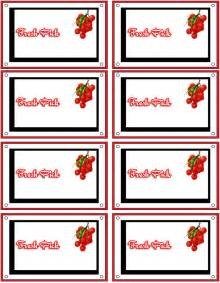 Free Custom Label Templates by Free Printable Food Labels Make Custom Food Labels Food