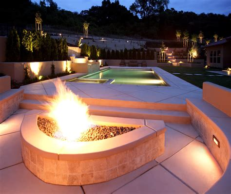 pool fire pit swimming pool designs in ground pool ideas